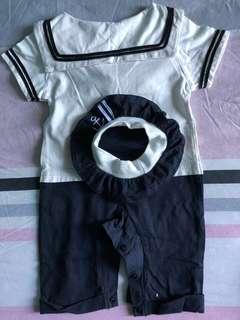 Navy uniform for baby boy
