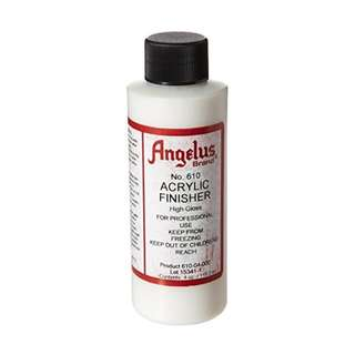 Angelus Brand Acrylic Leather Paint High Gloss Finisher No. 610 - 4oz