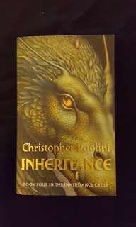 The Inheritance Cycle - Inheritance (Book 4) by Christopher Paolini