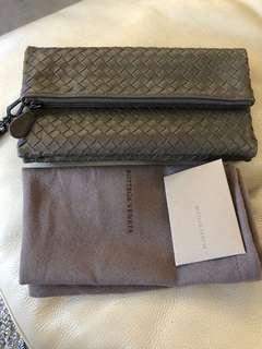 BV Bottega Veneta Wristlet Clutch Bag that doubles as a wallet - As good as new!!