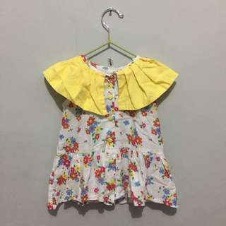 Whaley Yellow dress/top