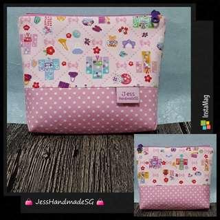 Handmade Multi Purposes 15cm Zipper Pouch【 FREE NON-REGISTERED MAIL 】
