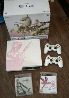 PS3 Slim Final Fantasy Lightning Edition