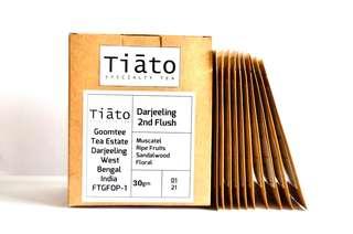 Tiato Steep Drip Tea Darjeeling 2nd Flush (30gram)(Subtotal RM25 & Above, 20%off)