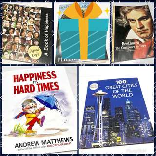 100 Cities, Beethoven, Happiness, Apple Hong