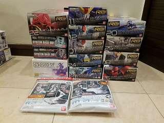 <Bundle> RG Gundam + Action Base