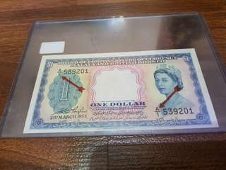 1953 $1 A/1