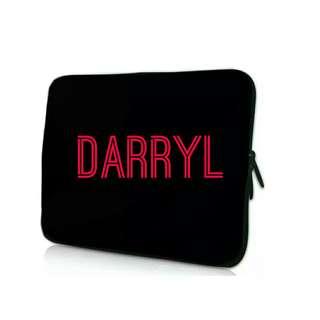 Customise Name Laptop Sleeve
