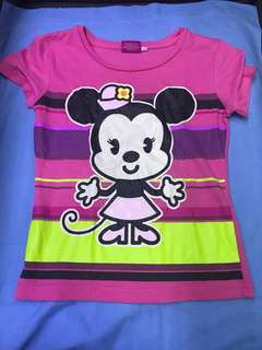 Disney Minnie Mouse Glitter Shirt