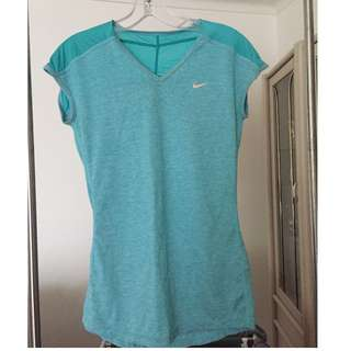 NIKE DRI-FIT Teal Top