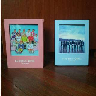 PRE-LOVED WANNA ONE TO BE ONE (SKY & PINK)