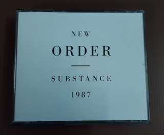 CD New Order - Substance 1987 ( 2 CD EU Press )