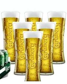 Carlsberg Pint Glasses