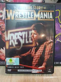 Reserved wwe wwf THE TRUE STORY OF WRESTLEMANIA VINCE MCMAHON