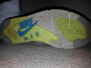 Nike air force pumps (used)