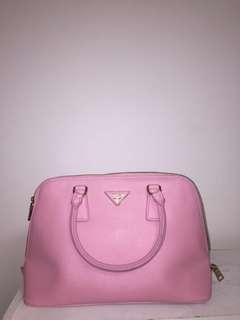 PRADA pink hang bag