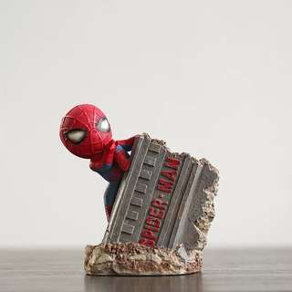 Little Spider-Man Pencil Stand Case - SDE541  Design: as attach photo   Size: 10*8*13cm