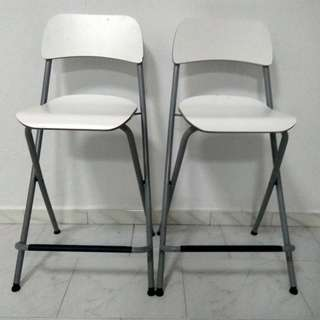 Excellent Condition! Foldable Lounge Bar High Stool Chair