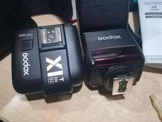 Godox TT350 + Trigger