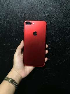 Iphone 7 plus 128gb Red Limited Edition openline via Gpp unlock