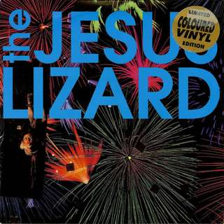 """The Jesus Lizard - (Fly) On (The Wall) - 7"""" Vinyl Limited Edition, Green Transparent Vinyl"""