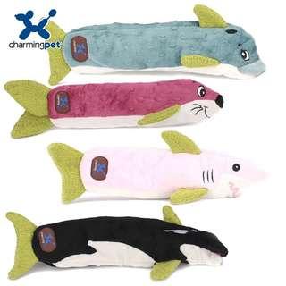。美國Charming Pet 狗狗玩具。Sea Crinklers