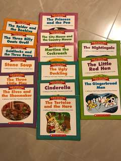 English Readers Set of 15