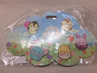 香港迪士尼 徽章 襟章 Ufufy Pins