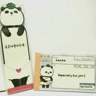 台灣熊貓memopad