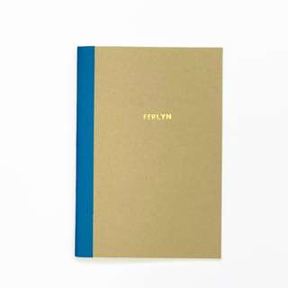 A5 Kraft Notebook [Personalised/Blank]