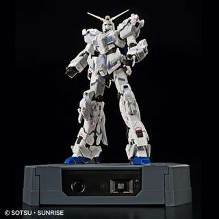 Pre-order:  RG 1/144 GUNDAM BASE Limited RX-0 Unicorn Gundam (Destroy model) ver. TWC [LIGHTING MODEL]