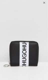 HUGO Logo Tape Zip Purse