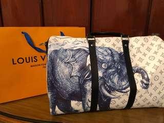 Louis Vuitton Savane brothers Duffel bag