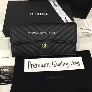 Real Snap Chanel Purse - black