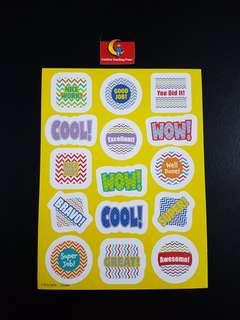[INSTOCK] BN Chevron Reward/Merit Stickers (Creative Teaching Press)