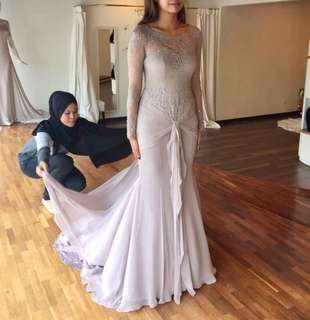 Nurita Harith Engagement Dress (not for rent)