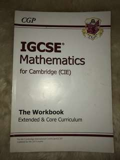 CGP - IGCSE Mathematics for CIE