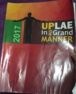 UPLAE Reviewer 2017 edition (includes CD)