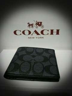 Coach men Wallet (AUTHENTIC)