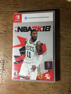 Switch game NBA 2K18
