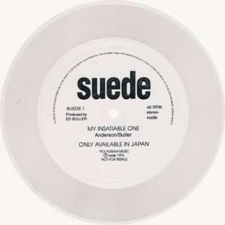 "Suede  - My Insatiable One - Flexi-disc 7"" Promo - Single Sided"