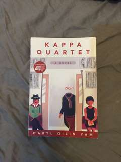 Kappa Quartet (signed by the author)