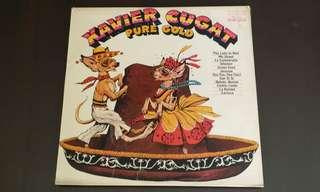 XAVIER CUGAT . pure gold. Vinyl record