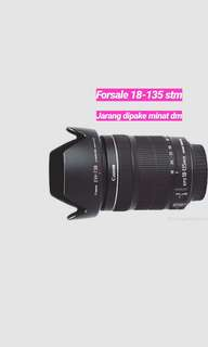 Lensa 18-135 like new