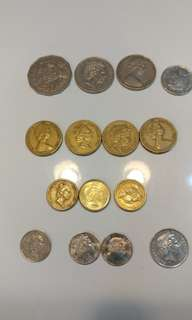 Australia currency (coins for exchange)