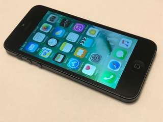 iPhone 5 16GB Black Unlocked