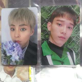 Exo-CBX Blooming Days Official Photocards