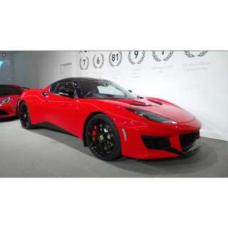 LOTUS EVORA 2+2 MANUAL