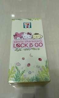 7-11 Sanrio charalcters Lock & Go 布甸狗冰冰水樽