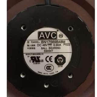 Original AVC Centrifugal turbine fan BN17569B48M 48V 0.90A